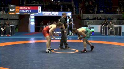 86 kg Quarterfinal - Alex Dieringer, USA vs Rashid Kurbanov, UZB