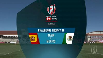 Spain 7s vs Mexico 7s Challenge Trophy Semi Finals | 2018 HSBC Women's 7s Colorado