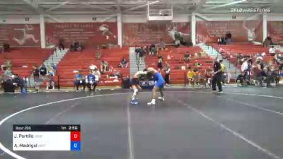 61 kg Consolation - Joshua Portillo, Nebraska Golden Eagles Wrestling Club vs Anthony Madrigal, Oklahoma Regional Training Center