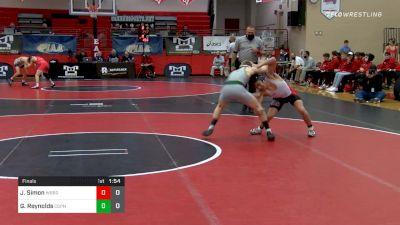 113 lbs Final - Joe Simon, Waynesburg vs Gavin Reynolds, Central Dauphin
