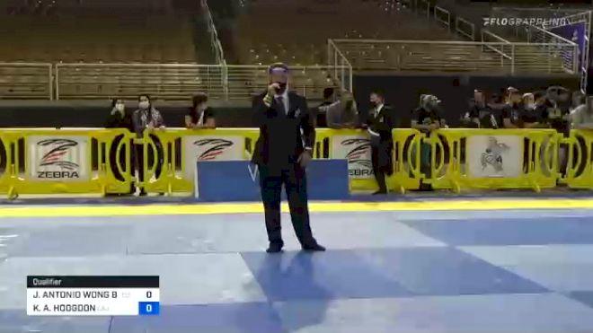 JOSUE ANTONIO WONG BÁEZ vs KYLE A. HODGDON 2020 Pan Jiu-Jitsu IBJJF Championship