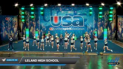 Leland High School [2020 Co-Ed Varsity Show Cheer Intermediate Day 1] 2020 USA Spirit Nationals