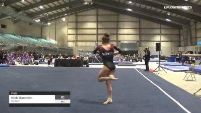 Nikki Beckwith - Floor, Buckeye - 2019 Buckeye Classic