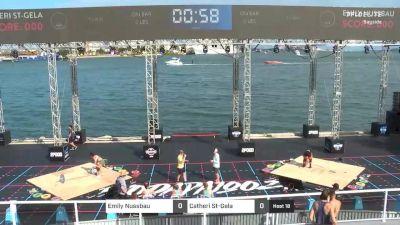 Bayside | 2.20.2020 | Weightlifting Faceoff | Women's Quarterfinal | Nussbau | St-Gela