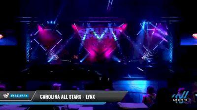 Carolina All Stars - Lynx [2021 L1 Junior - D2 - Small Day 2] 2021 Spirit Sports: Battle at the Beach