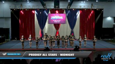 Prodigy All-Stars - Midnight [2021 L6 Senior Coed Day 2] 2021 The American Spectacular DI & DII