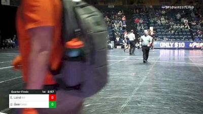 197 lbs Quarterfinal - Ethan Laird, Rider vs Dakota Geer, Oklahoma State