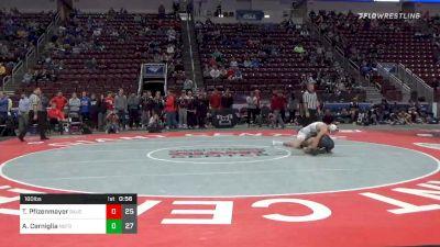 160 lbs Consolation - Tyler Pfizenmayer, Saucon Valley Hs vs Andrew Cerniglia, Notre Dame Hs - Green Pond