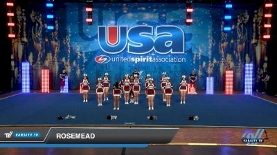 Rosemead [2019 Varsity Show Cheer Non-Tumbling Novice Day 2] 2019 USA Spirit Nationals