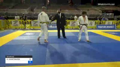 KOUICHI KAMITANIDA vs ROBERT GEORGE MARVIN 2020 World Master IBJJF Jiu-Jitsu Championship