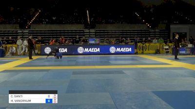CARINA SANTI vs HILLARY VANORNUM 2019 Pan Jiu-Jitsu IBJJF Championship