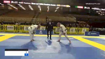 MICHAEL WAYNE LARKIN vs JOHN CHARLES HOFFMAN 2020 World Master IBJJF Jiu-Jitsu Championship