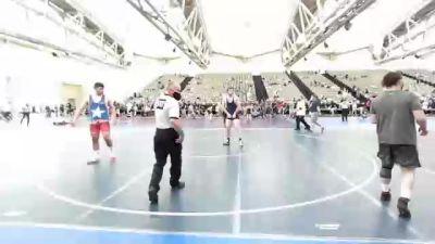 225 lbs Quarterfinal - Rey Miller, --Other-- vs William Baldwin, Cougar Wrestling Club