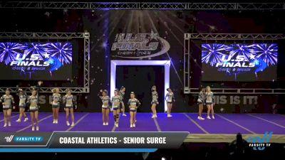 Coastal Athletics - Senior Surge [2021 L3 Senior - Small - A Day 2] 2021 The U.S. Finals: Ocean City