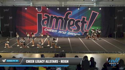 Cheer Legacy Allstars - Reign [2021 L3 Junior Day 1] 2021 JAMfest: Liberty JAM