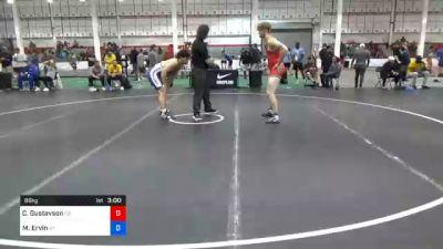 86 kg Consolation - Cole Gustavson, Colorado vs Micah Ervin, Kentucky