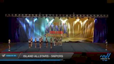 Island Allstars - 5nipers [2021 L5 Senior - D2 Day 1] 2021 The STATE DI & DII Championships