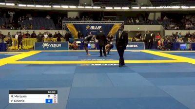 Hugo Marques vs Victor Silverio 2018 World IBJJF Jiu-Jitsu No-Gi Championship