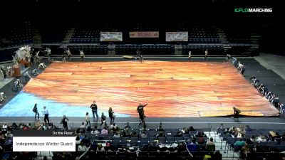 Independence Winter Guard at 2019 WGI Guard Mid East Power Regional - Cintas Center