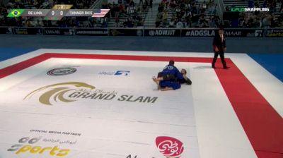Rafael De Lima vs Tanner Rice 2018 Abu Dhabi Grand Slam Los Angeles