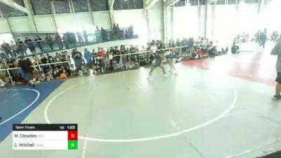 191 lbs Semifinal - Mariyah Casados, Self Made Training Facility vs Chanetiney Mitchell, Team Quest