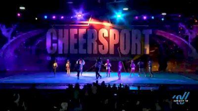Galaxy Allstars - Xrays [2021 L5 Senior Open Coed - D2 Day 2] 2021 CHEERSPORT National Cheerleading Championship