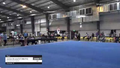 Joslyn Bryner(VT/BB/FX) - Floor, Olympus Gymnastics - 2021 Region 1 Women's Championships