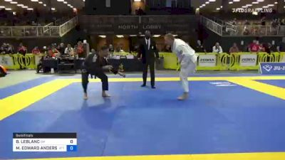 BRENT LEBLANC vs MICHAEL EDWARD ANDERSON 2021 Pan Jiu-Jitsu IBJJF Championship