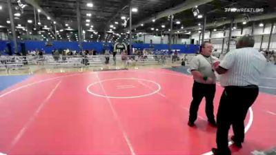 120 lbs 2nd Place - Jameson Garcia, Fwa vs Joey Ruzic, Auburn WC