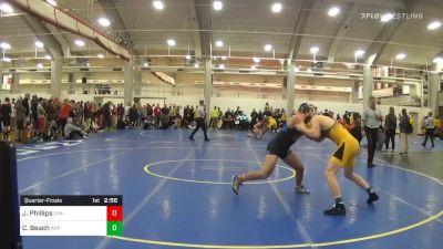 Quarterfinal - Justin Phillips, UVA-Unattached vs Christian Beach, Appalachian State