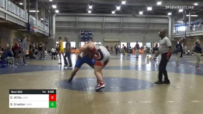 Semifinal - Gaige Willis, Unrostered vs Bruce Graeber, Unrostered