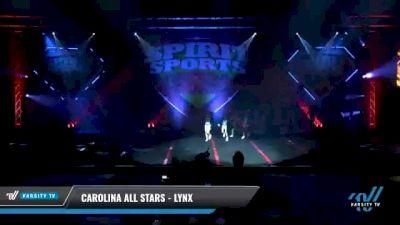 Carolina All Stars - Lynx [2021 L1 Junior - D2 - Small Day 1] 2021 Spirit Sports: Battle at the Beach