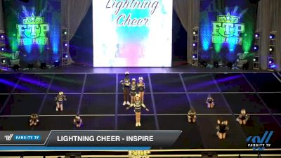 Lightning Cheer - Inspire [2020 L1 Youth Day 2] 2020 Feel The Power East