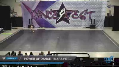 Power of Dance - Inara Petty [2021 Youth - Solo - Lyrical Day 2] 2021 Badger Championship & DanceFest Milwaukee