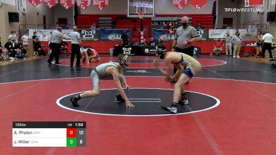 138 lbs Semifinal - Aiden Phalen, Spring-Ford vs Josh Miller, Central Dauphin