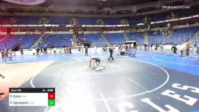 145 lbs 3rd Place - Peter Kane, New England vs Paul Ognissanti, NJ/NY