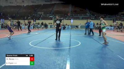 112 lbs Quarterfinal - Matthew Revas, Prodigy Wrestling vs Connor Flynn, Vian Wrestling Club