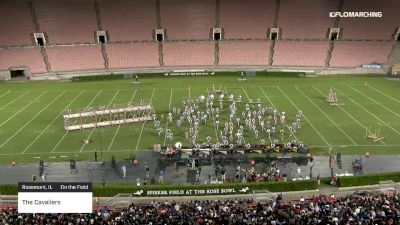 """The Cavaliers """"Rosemont, IL"""" at 2019 DCI Drum Corps at the Rose Bowl"""