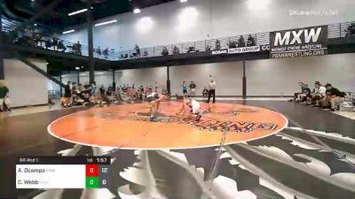 125 lbs Prelims - Alexander Ocampo, Midwest Xtreme Wrestling vs Chris Webb, Elite Athletic Club