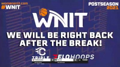 OHIO vs. FORDHAM - 2021 WNIT - Round 2, Charlotte Regional