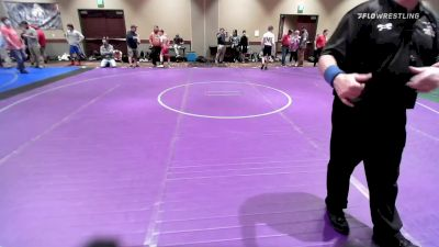 106 kg Rr Rnd 2 - Alex Polsinello, New York vs Trevor Bishop, Curby 3 Style Wrestling Club