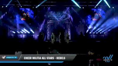 Cheer Militia All Stars - Rebels [2021 L1.1 Youth - PREP Day 1] 2021 The U.S. Finals: Myrtle Beach