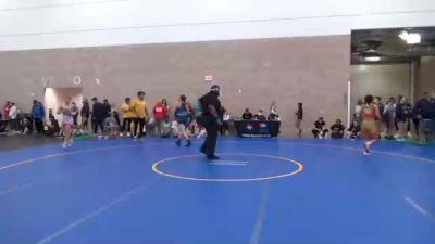 59 kg Quarterfinal - Michaela Beck, NY vs Tatum Pine, WA