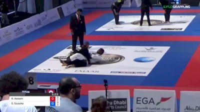 Rida Haisam vs Sebastian Szyszka 2018 Abu Dhabi World Pro