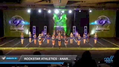 Rockstar Athletics - Anarchy [2021 L3 Senior - D2 - Medium Day 3] 2021 CSG Super Nationals DI & DII