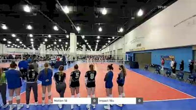 Motion VB 16 GREEN vs MOD Elite G16 blue - 2021 JVA MKE Jamboree presented by Nike
