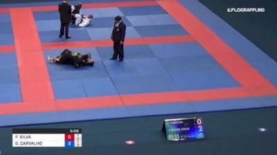 FRANKLIN SILVA vs GUILHERME CARVALHO 2018 Abu Dhabi Grand Slam Rio De Janeiro