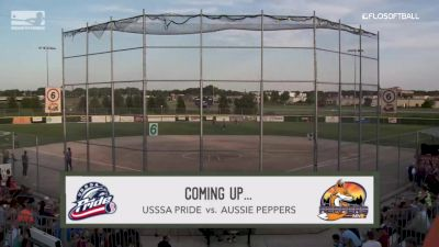 Full Replay - 2019 USSSA Pride vs Aussie Peppers - Game 2 | NPF - USSSA Pride vs Aussie Peppers - Gm2 - Aug 6, 2019 at 7:37 PM CDT