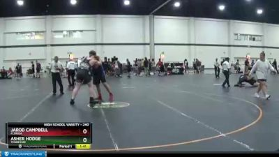 240 lbs 3rd Place Match - Jarod Campbell, Florida vs Asher Hodge, Tennessee