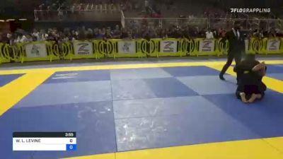 WILLIAM L. LEVINE vs FELIX XAVIER GARCIA 2021 Pan Kids Jiu-Jitsu IBJJF Championship